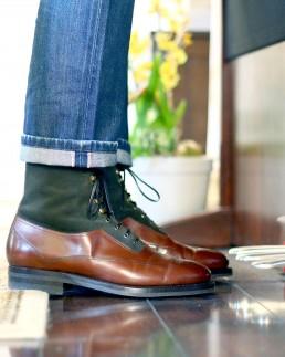 Enzo Bonafe Hunter Oxford Boot