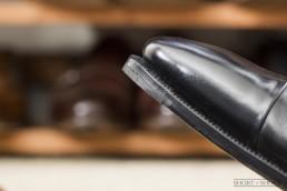 Proper Flush Rubber Toe Taps on Dress Shoe