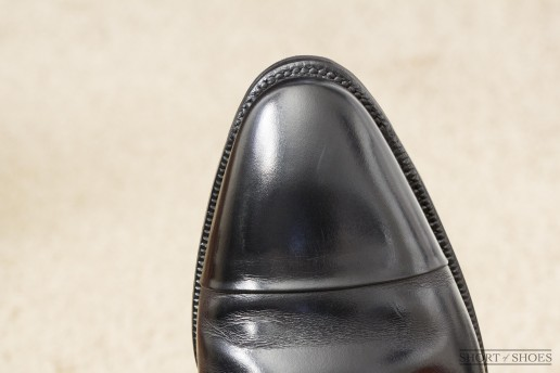 Proper Flush Rubber Toe Taps on Dress Shoe