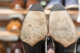 Rubber Toe Taps on Dress Shoe