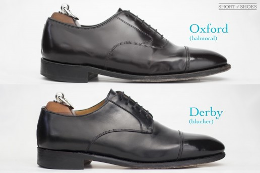 what is an oxford shoe vs derby