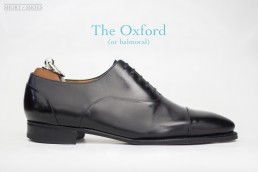 what is an oxford dress shoe