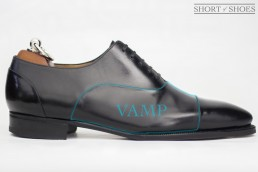 what is the vamp on a shoe