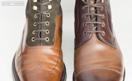 Oxford boot vs Derby boot