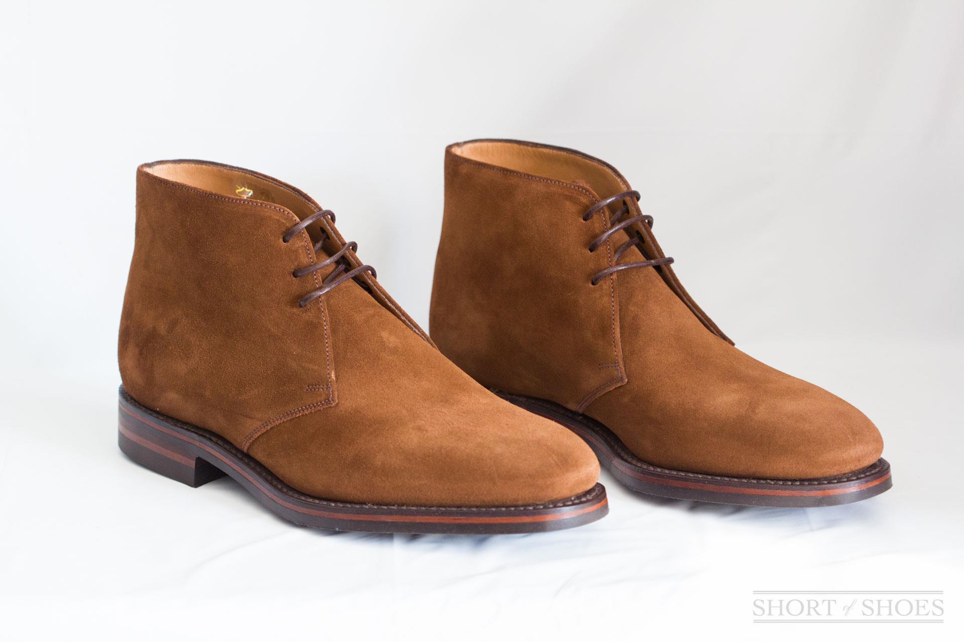 more photos b7861 30ec8 Loake Shoes Review - Kempton Suede Chukka 1880 Line