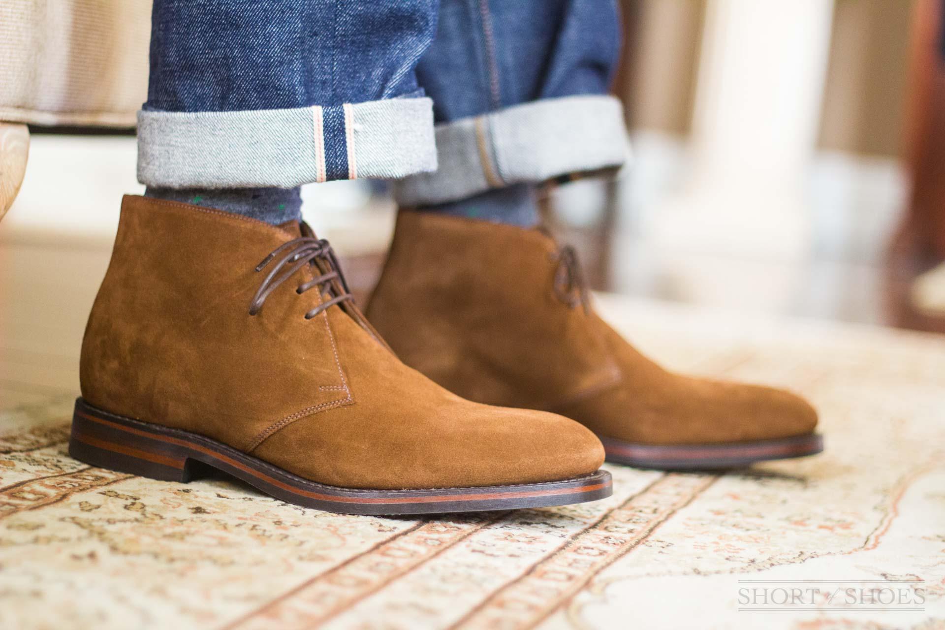 ee63b665b86 Loake Shoes Review - Kempton Suede Chukka 1880 Line