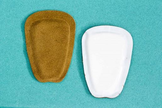 suede tongue pad adhesive backing