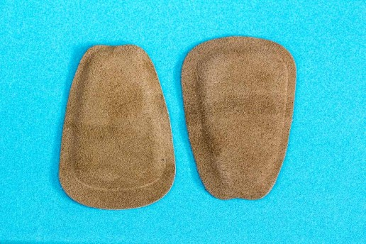 suede tongue pads