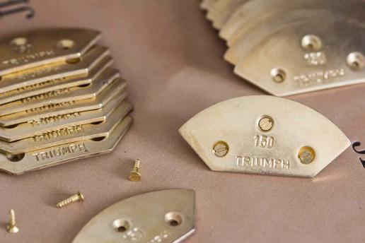 triumph toe taps plates